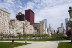 chicago park Arkivfoton