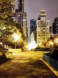 Chicago park Royalty Free Stock Photography