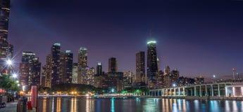 chicago pejzaż miejski Obraz Royalty Free