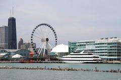 Chicago& x27 ; pilier de marine de s image libre de droits