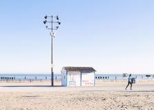 Chicago plaży brzeg jeziora Obrazy Stock