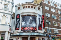The Chicago play and theatre in london royalty free stock photos