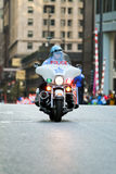 Chicago Police Motorcycle Royalty Free Stock Photos