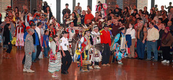 Chicago Pow Wow. The 58th annual Inter-tribal Pow Wow was held at Navy Pier in Chicago on November 19, 2011. This annual event is one of the largest Pow Wows in stock photos