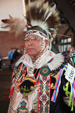 Chicago Pow Wow Tribal Chief Royalty Free Stock Images