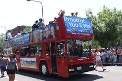 Chicago pride parade 2011 Stock Photo