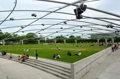 Chicago Pritzker pavilion Stock Photography