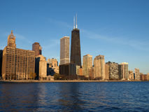 chicago ranek Fotografia Royalty Free