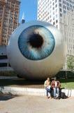 chicago redakcyjna oka s rzeźba zdjęcie royalty free