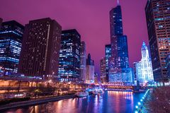 Chicago Reflections Royalty Free Stock Photography
