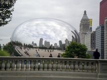 Chicago Bean at Park Stock Images