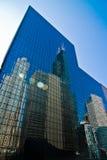 chicago reflexion Arkivfoto