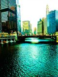 Chicago River Stockfoto