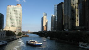 Chicago River Royaltyfri Bild