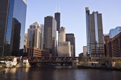 chicago river Στοκ Εικόνες