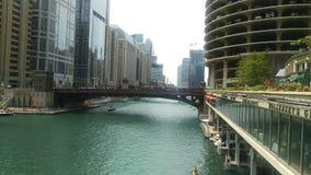 Chicago River Royaltyfria Foton