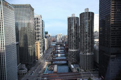 Chicago river Stock Photography