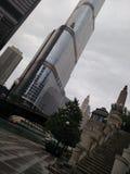 Chicago River går Fotografering för Bildbyråer
