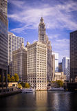 Chicago River Royalty Free Stock Photos