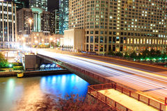 Chicago River Walk Royalty Free Stock Images