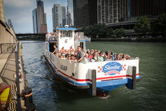 Chicago riverboat tours. Stock Image