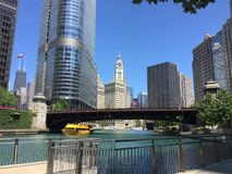 Chicago Riverfront Stock Fotografie