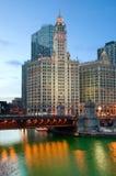 Chicago riverside Stock Image