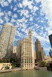 Chicago Riverwalk Fotografia de Stock Royalty Free