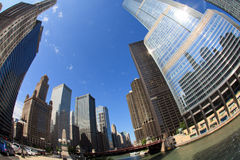 Chicago Riverwalk Royalty Free Stock Photos