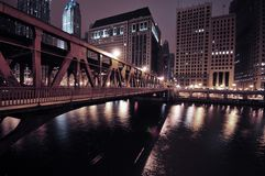 Chicago Riverwalk Stock Photography