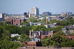 chicago rooftops Fotografering för Bildbyråer