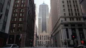 Chicago`s Board of Trade wide angle