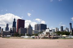 Chicago's Buckingham Fountain Stock Images