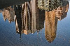 Chicago s'est reflétée Image libre de droits