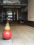 Chicago& x27; s fångna bollar! Arkivbild