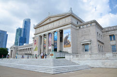 Chicago's Field Museum of Natural History. CHICAGO - AUGUST 15: Chicago's Field Museum of Natural History, shown on August 15, 2015, has a collection of over 24 Royalty Free Stock Images