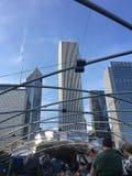 Chicago-` s Jahrtausend-Park lizenzfreie stockfotos