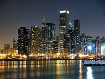 Chicago's  Lake Michigan Shore Royalty Free Stock Image
