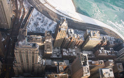 Chicago's Lake Shore Drive and Buildings royalty free stock images