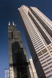 Chicago's landmarks Stock Photography
