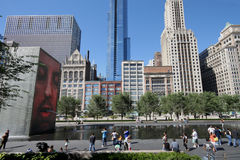 Chicago's Millennium Park Royalty Free Stock Image