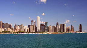 Chicago's Skyline on a Clear Day Stock Image