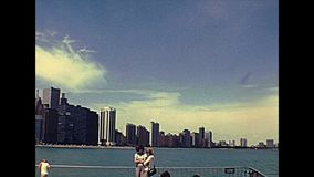 Chicago 1970s waterfront lookout