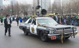 Chicago Saint Patrick parade Stock Image