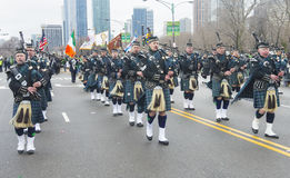 Chicago Saint Patrick parade Stock Photos