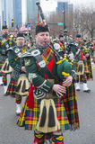 Chicago Saint Patrick parade Royalty Free Stock Image