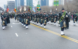 Chicago Saint Patrick parade Royalty Free Stock Photo