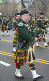 Chicago Saint Patrick parade Royalty Free Stock Photography