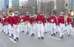 Chicago Saint Patrick parade Stock Images