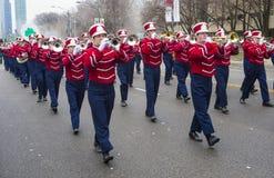 Chicago Saint Patrick parade Stock Photography